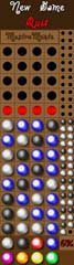 A small clone of Master Mind. Find the right color sequence. A game by Bottomap